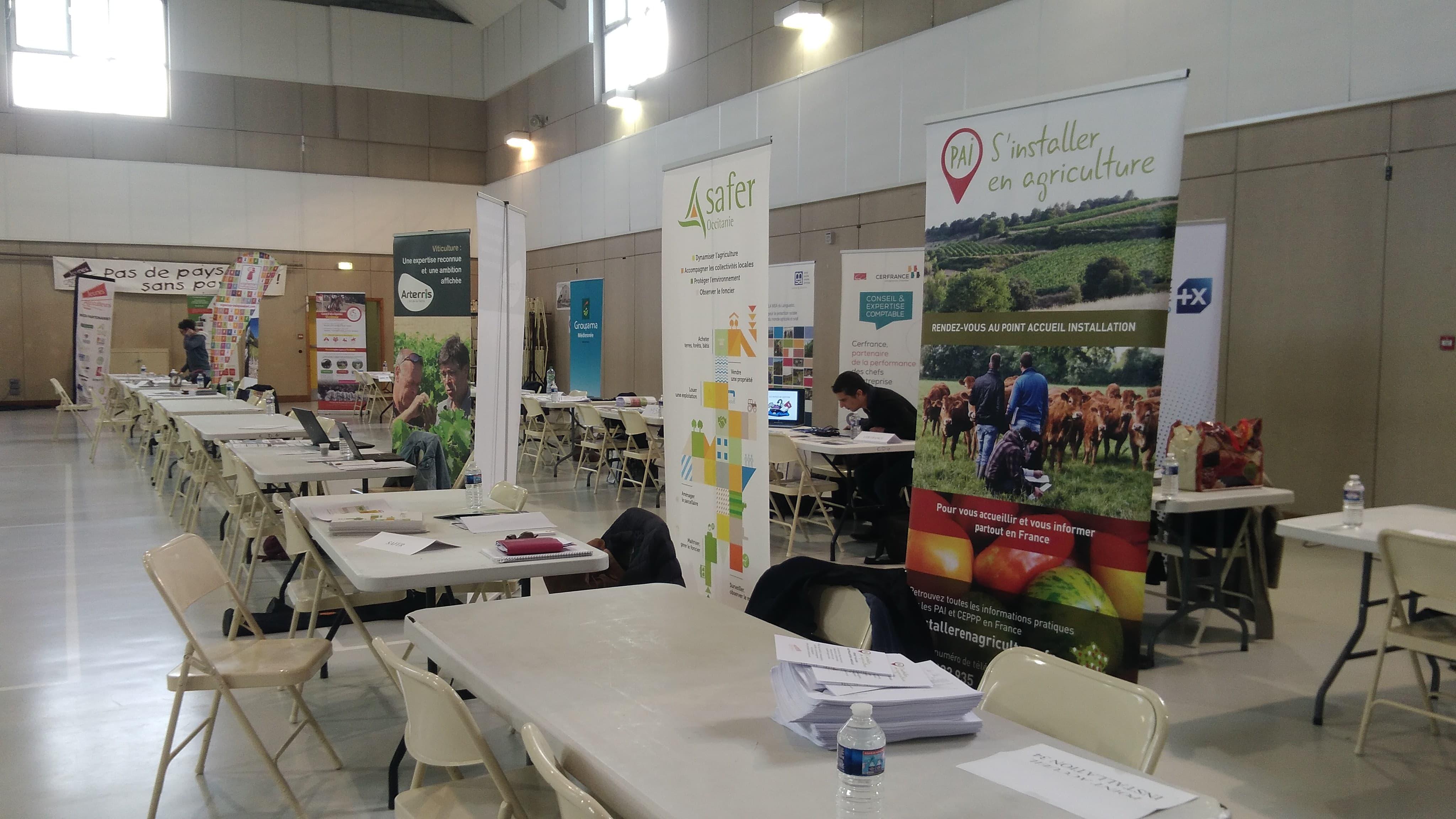 21ème édition de la journée installation en filière agricole
