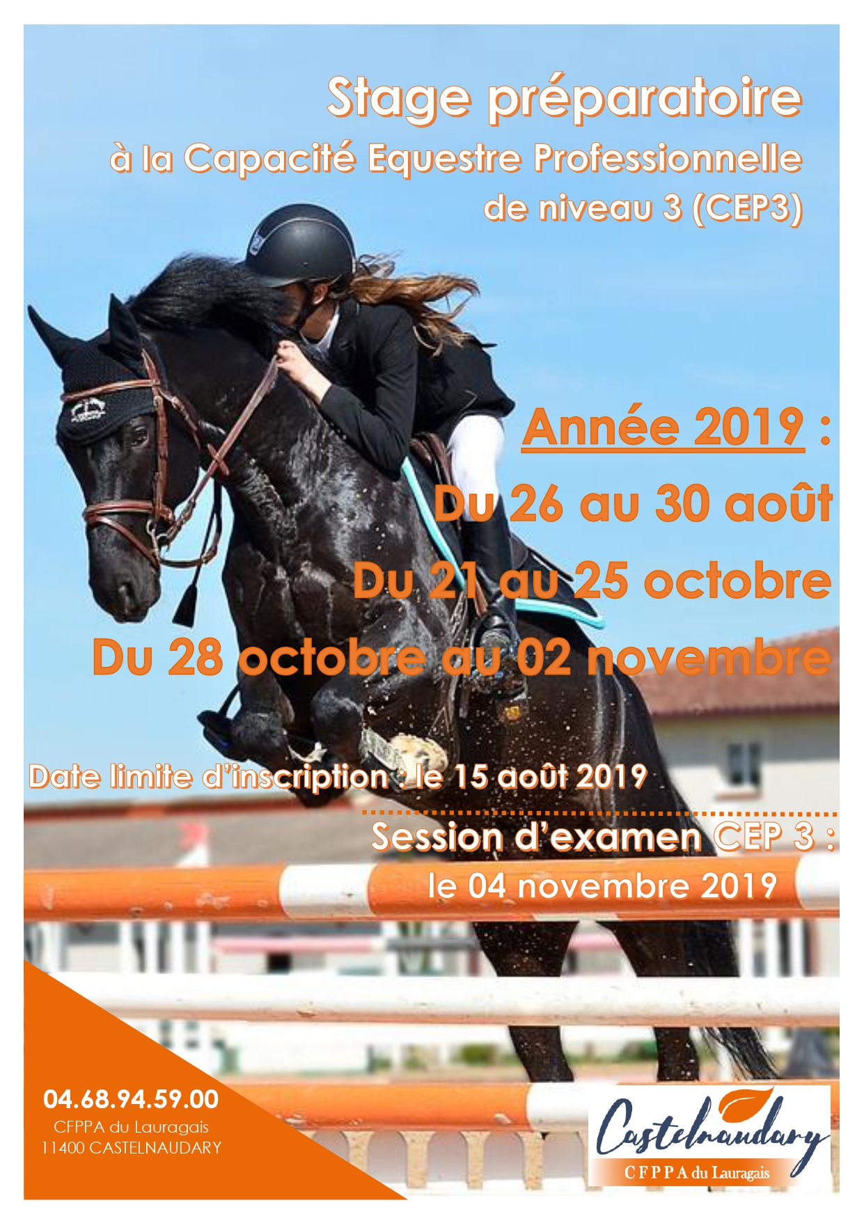 FORMATION 2019 : prépa CEP 3