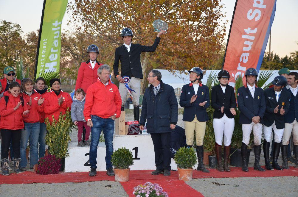 CIC3* du Pouget victoire tricolore de Maxime Livio